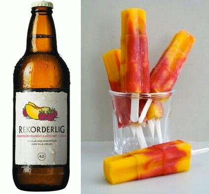 Fancy something a little different this summer at your bbq with your friends? Why not try making ice lollies from your favourite cider (maybe mixed with your favourite fruit juice) something a little different from the classic vodka and lemonade jelly  :)