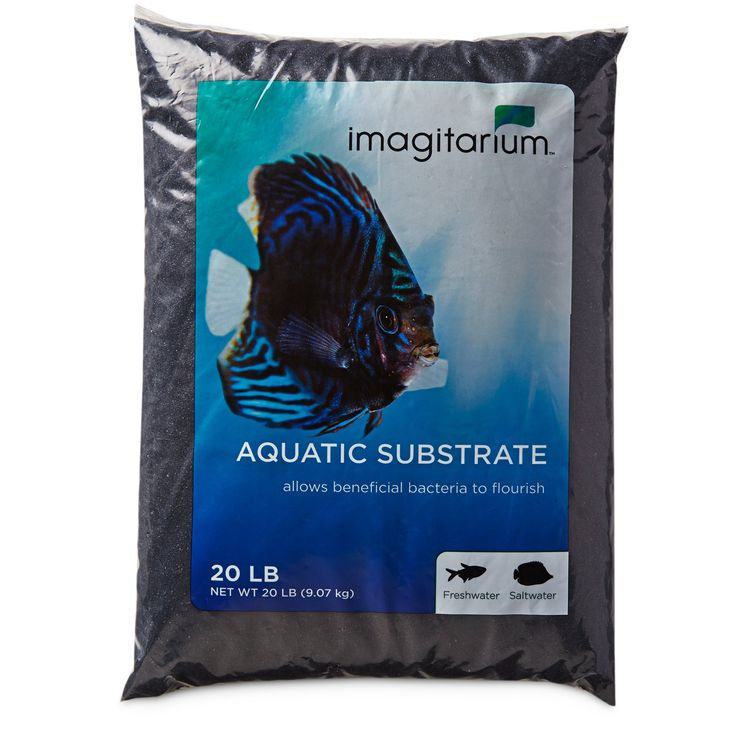 Stylize a vast valley of shimmering silicon with the Imagitarium Black Sand Aquatic Substrate. This bold black aquarium sand crafts a background where glittering pets pop while assisting in a healthy environment for your fresh or salt water species.