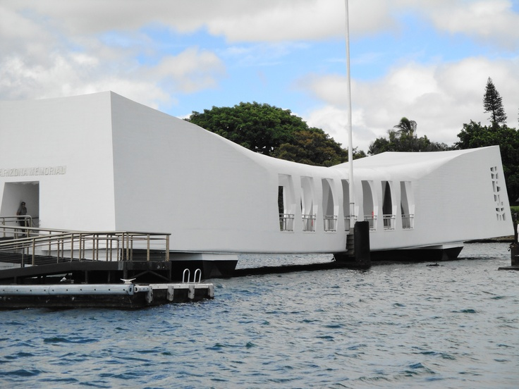 The Date of Infamy that launched an epic conflict with Japan took place here in the early morning hours of December 7, 1941. The tranquil waters of Pearl Harbor were forever disrupted by the tides of war. The USS Arizona and 1,177 of her crew were among the first casualties of the Pacific War; the USS Arizona Memorial stands above the sunken vessel and her fallen sailors, serving as a reminder of their sacrifice and commitment.