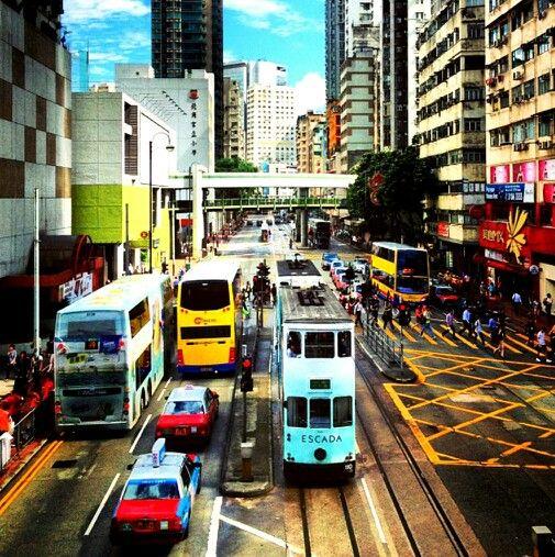 King's Road , Hong Kong