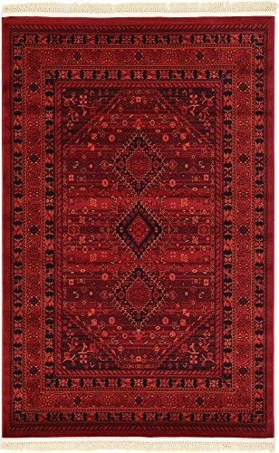 Tribal 4 Feet By 6 X Bokhara Red Area Rug Review