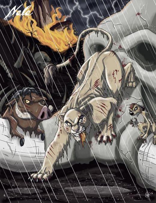 Nala from Lion King