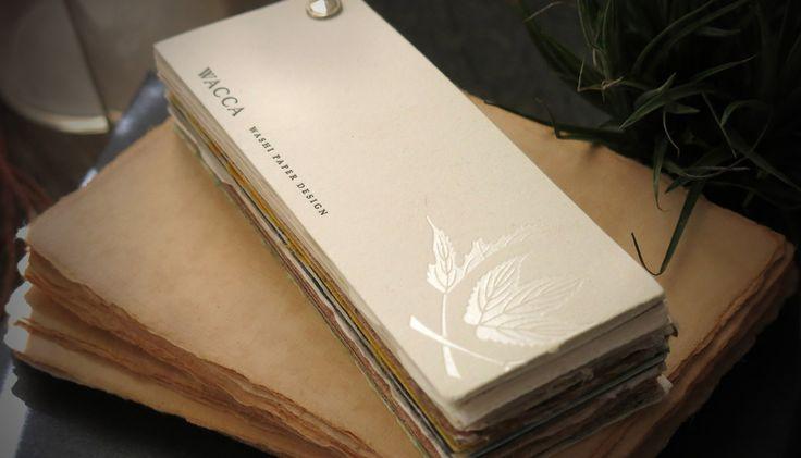 WASHI PAPER BOOK -WACCA JAPAN