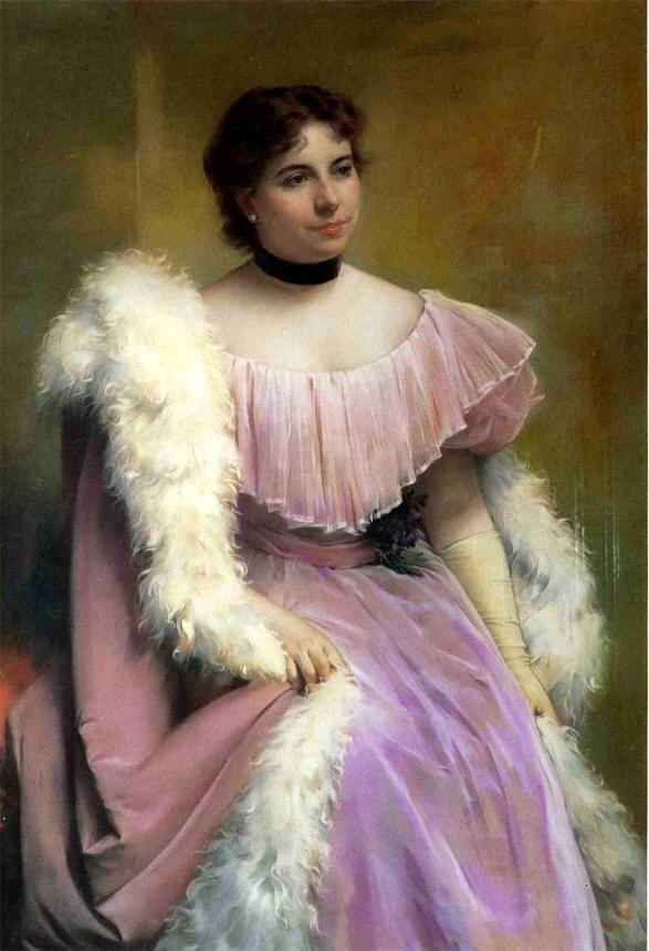 """Giuseppe De Nittis """"Ritratto di Signora"""" 1878"""