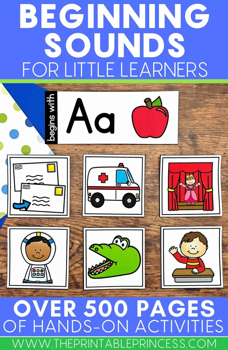 Beginning Sounds Pocket Chart Activities Letter sound