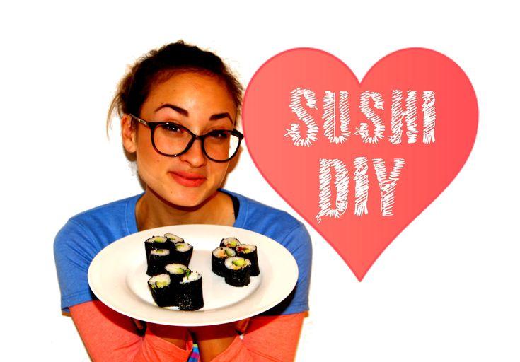 Sushi DIY - Selber machen - Anleitung - Rezept - Sushi rollen - Sushi re...