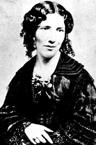 """Harriet Beecher Stowe Never give up, for that is just the place and time that the tide will turn""""  The American abolitionist authored the controversial anti-slavery book Uncle Tom's Cabin, a tale which spurred many to seek the abolition of slavery."""