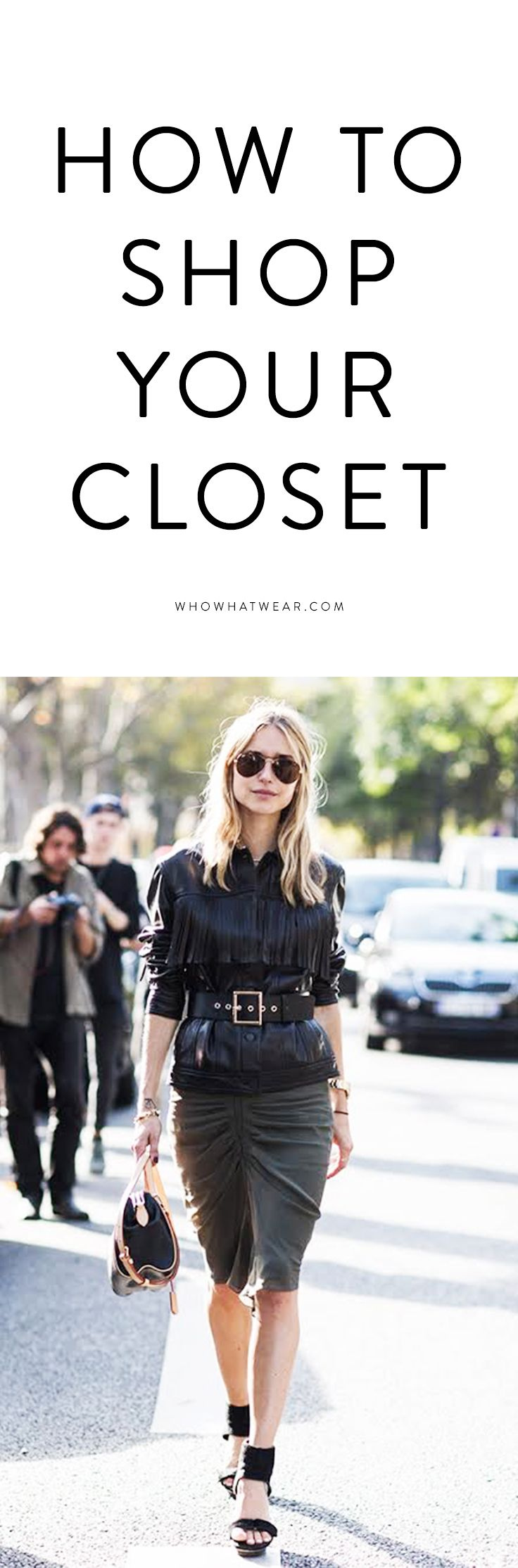 Create new outfits with your best pieces
