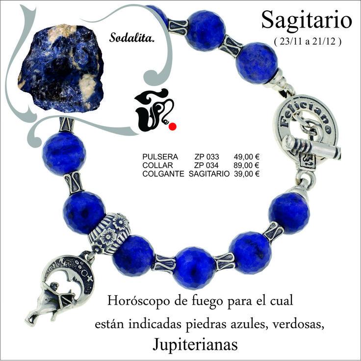 Hola feliciamig@s. Como ya sabéis estamos en el mes de Leo, por eso Feliciano joyeros os presenta la #pulsera del #horóscopo de Sagitario, montada en piedra natural llamada sodalitay #plata.Y colgando de ella su horóscopo correspondiente en plata. Feliciano joyeros os anima a que la llevéis siempre con vosotros. Buen día. http://www.felicianojoyeros.com/es/horoscopos/530-abalorio-zares-horoscopo.html http://www.felicianojoyeros.com/es/pulseras-del-horoscopo-en-piedra-natural/97-pulsera-pied
