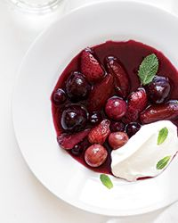 Summer Fruit Soup CONTRIBUTED BY JACQUES PÉPIN TOTAL TIME: 45 MIN PLUS CHILLING SERVINGS: 6 TO 8 •FAST •HEALTHY •STAFF-FAVORITE Jacques Pépi...