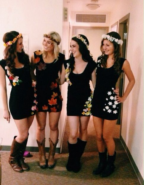 The four seasons group costume