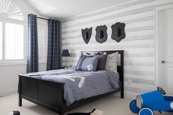 Watercolor Horizontal Stripe Wallpaper Striped Wallpaper Stripe
