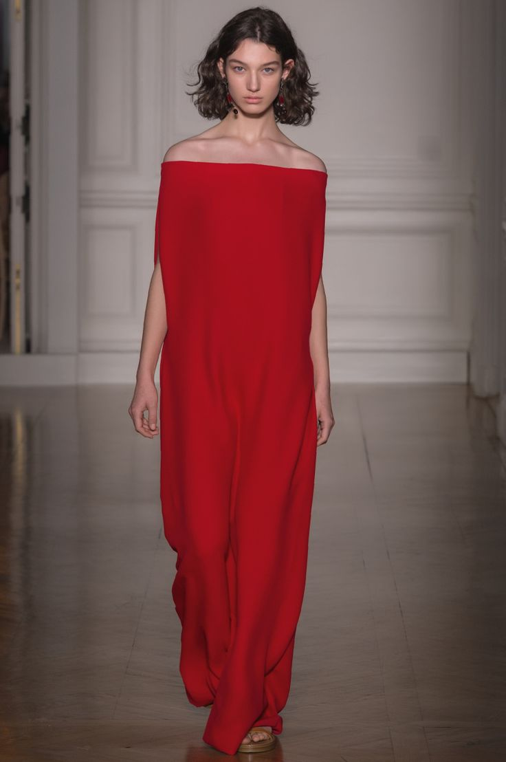 RED Sleeveless Crepe Couture Dress Spring/summer Valentino EnWbI3