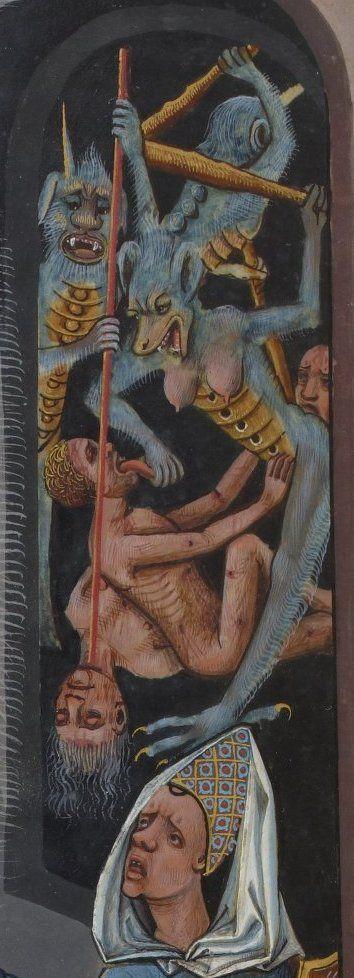 Devils.  Evrart de Conty , Le livre des échecs amoureux moralisés.