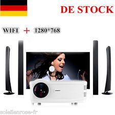 Uhappy Android Wifi BEAMER VIDEO FULL HD 3000 lUMENS LCD PROJEKTOR LED 2*USB DE