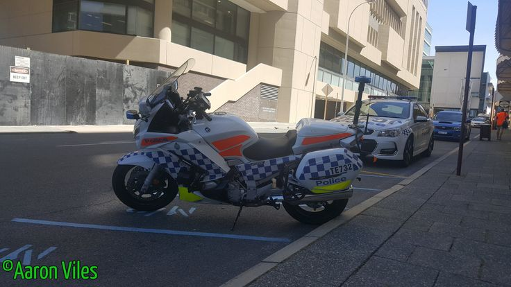 https://flic.kr/p/Gh8tRa | Western Australia Police | Yamaha FJR 1300 TE732 Traffic Branch Unit motorcycle. Perth CBD, WA