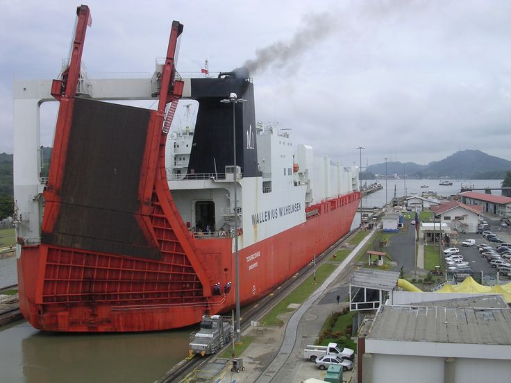 best the monkeys of the canal images roll on roll off ships such as this one pictured here at miraflores locks are among the largest ships to pass through the canal