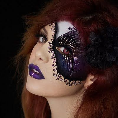 Preen.Me MUA Tal P mesmerizes in this mysterious, avant-garde #makeup masterpiece. Love it? Share it!