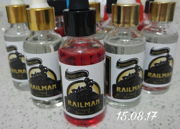 RailMan & Lonely Wolf 30TL - Konya  Sek veya karışık Alkol, Meyve ve Kahve çeşitleri 30 ml Vg80/Pg20 Nbase 0'45 mg nic içeriği  kişiye özel kokteyl seçeneği ile emrinizde  bol buharlar