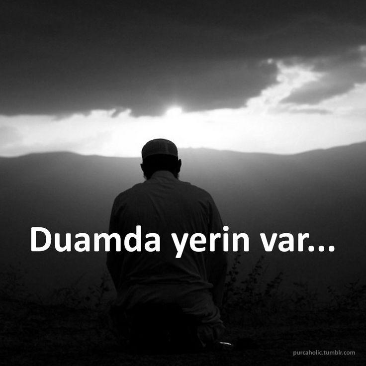 Duamda yerin var...  #sözler #anlamlısözler #güzelsözler #özlüsözler #alıntı #alıntılar #alıntıdır #alıntısözler #dua