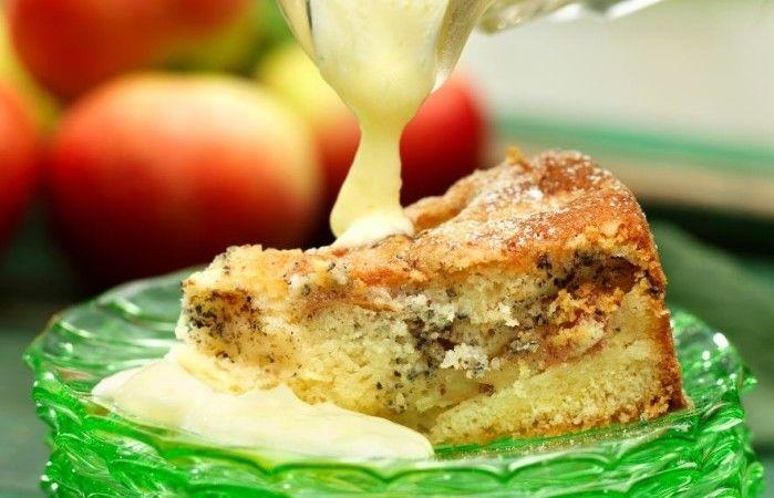 recept mjuk äppelkaka med kardemumma