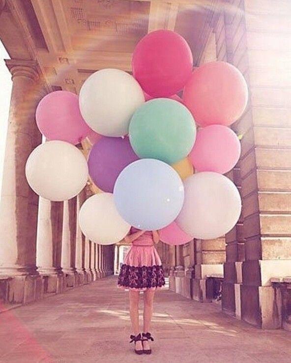XXL Riesen Luftballon 45 CM groß Helium - Hochzeit Dekoration Party - div. Farbe