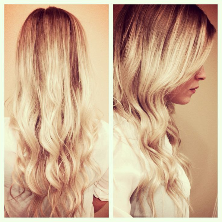 blonde ombre repunzel repunzel pinterest life photo my hair and waves. Black Bedroom Furniture Sets. Home Design Ideas