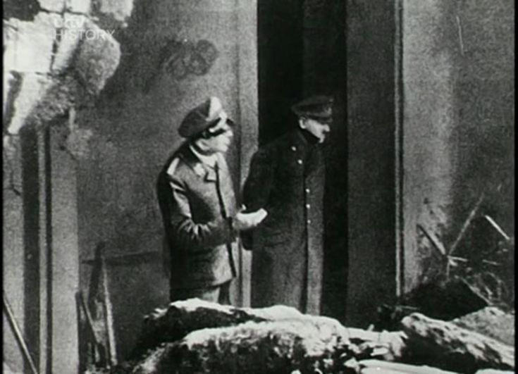 The last picture of Adolf Hitler, April 30, 1945