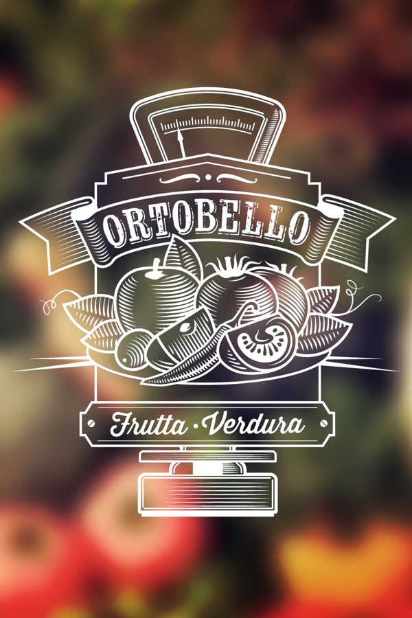 Ortobello by Abel Costantino, via Behance