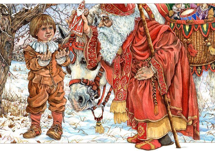 The Baker's Dozen: A Saint Nicholas Tale Advent Activities for Kids {Weekend Links} from HowToHomeschoolMyChild.com