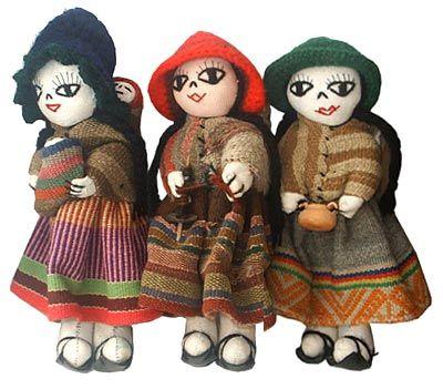 Кукла перуанская Куско Inka-trade (Перу)