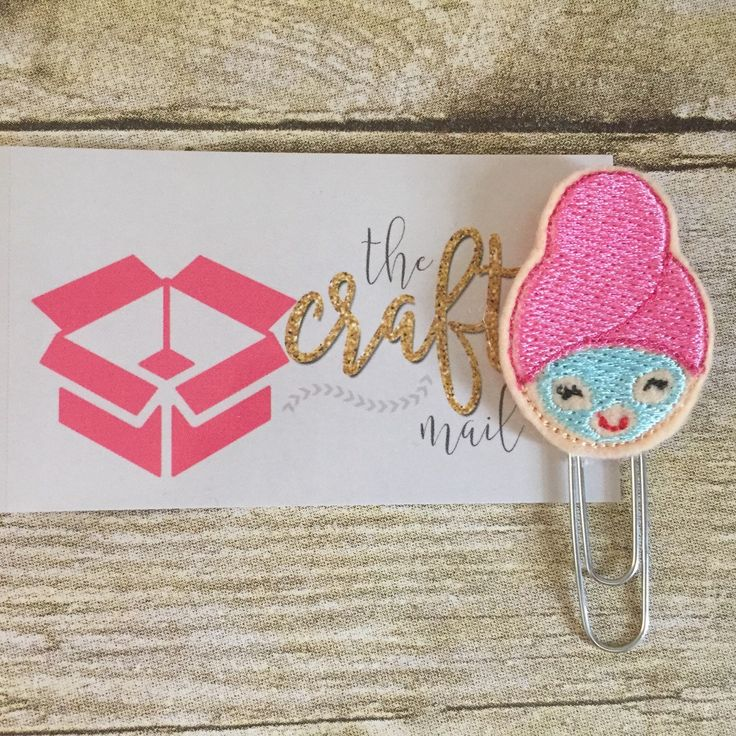 Just listed! Spa girl planner clip!