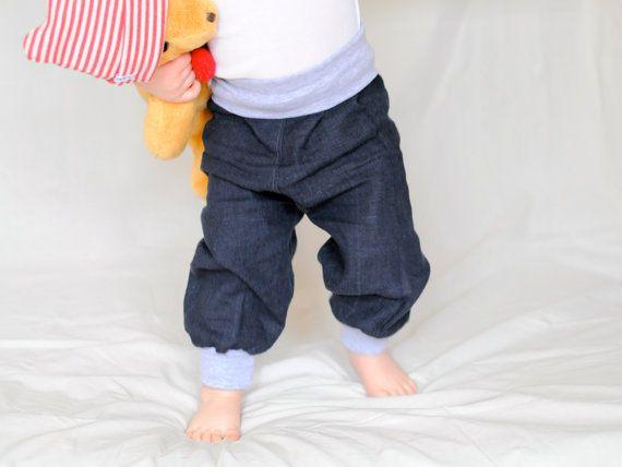 Blaue jungen Jeanshose bio. #etsyde#weihnachtsgeschenke#handgemacht #FindeDeinWeihnachten