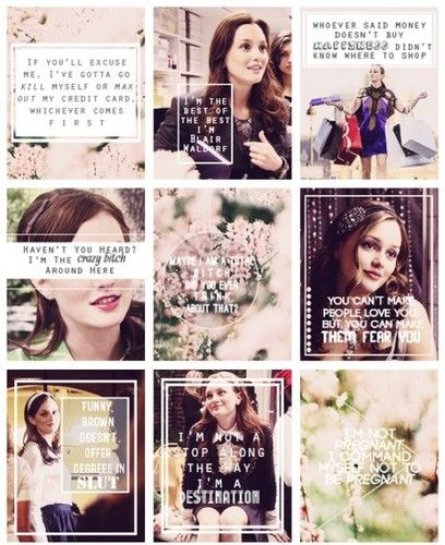 blair waldorf quotes blair waldorf fan art 33607440 fanpop fanclubs - Blair Waldorf Wohnheim Zimmer