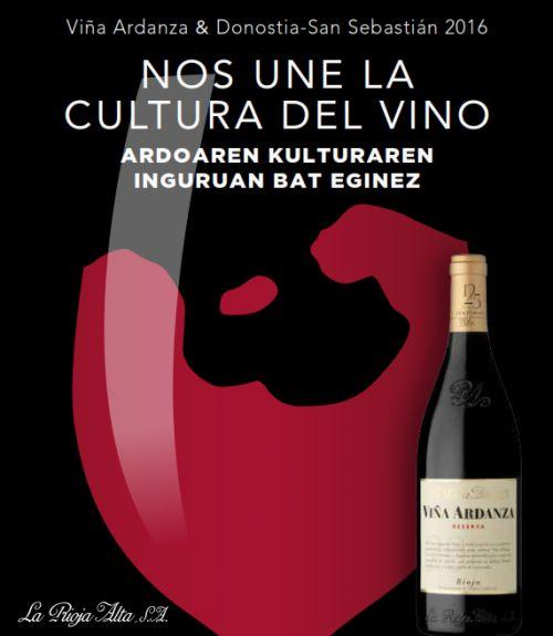 Promoción de La rioja Alta y Viña Ardanza, con motivo de #donostia2016 #vino #wine #rioja #sansebastian #pintxos #viña