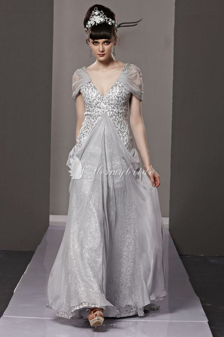 Fairy Long Sleeve Evening Gowns