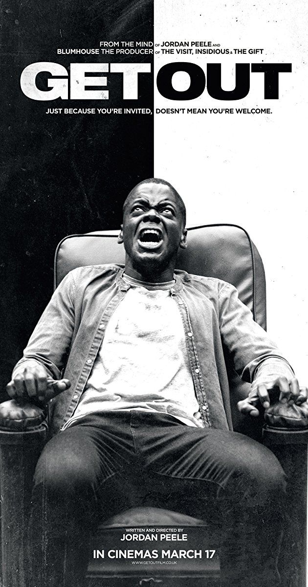 Directed by Jordan Peele. With Daniel Kaluuya, Allison Williams, Bradley Whitford, Catherine Keener. It's time for a young African American to meet with his white girlfriend's parents for a weekend in their secluded estate in the woods, but before long, the friendly and polite ambience will give way to a nightmare.