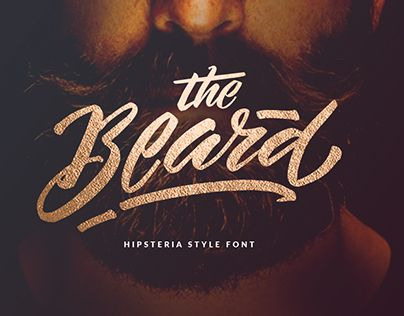 "Check out new work on my @Behance portfolio: ""Hipsteria Style Font - The Beard"" http://be.net/gallery/42096221/Hipsteria-Style-Font-The-Beard"