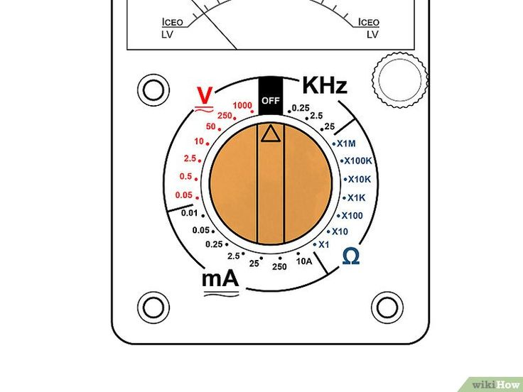 3 Ways to Use a Multimeter: Measuring Ohms, Volts and Amps