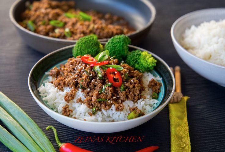 Koreansk färs- Middag på 30 min - ZEINAS KITCHEN