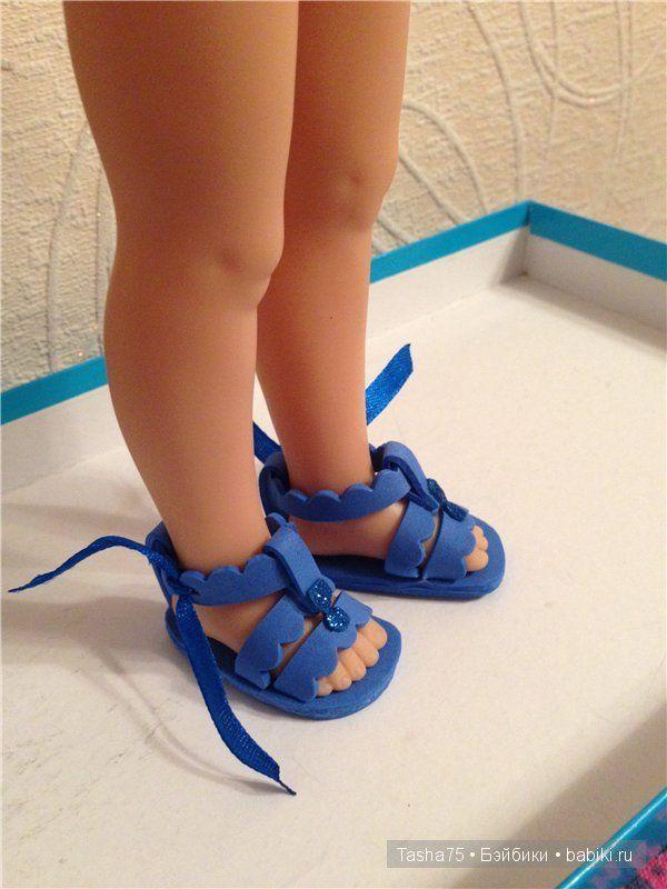 Сандалии для кукол Paola Reina / Одежда и обувь для кукол - своими руками / Бэйбики. Куклы фото. Одежда для кукол