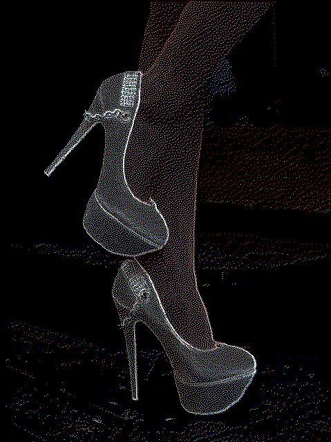 High heels (nokia sleeping screen)