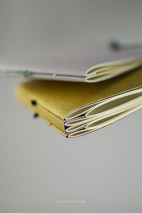 Handmade book by Svart
