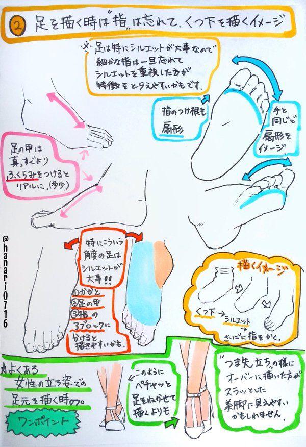 """吉村拓也【神様のハナリ3巻4/19発売】さんはTwitterを使っています: """"【最低限!】『コレだけ注意すれば 下手糞には見えない【足の描き方】 たった2つのこと』 https://t.co/pBY2knvpfQ"""""""