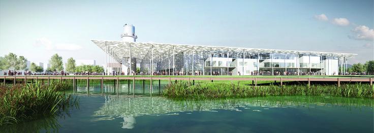 Le Palais des Congrès de Valenciennes Métropole - crédit photo: OFFICE DE TOURISME DE VALENCIENNES