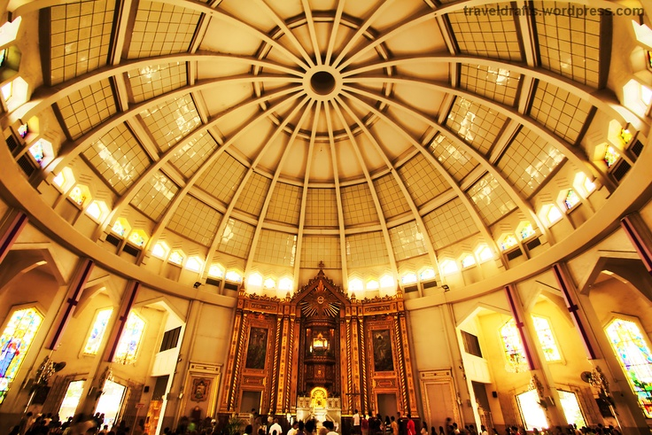 Inside Antipolo Cathedral