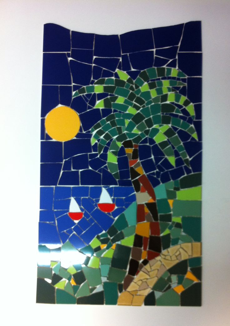 Fresco 46 x 85 cm.