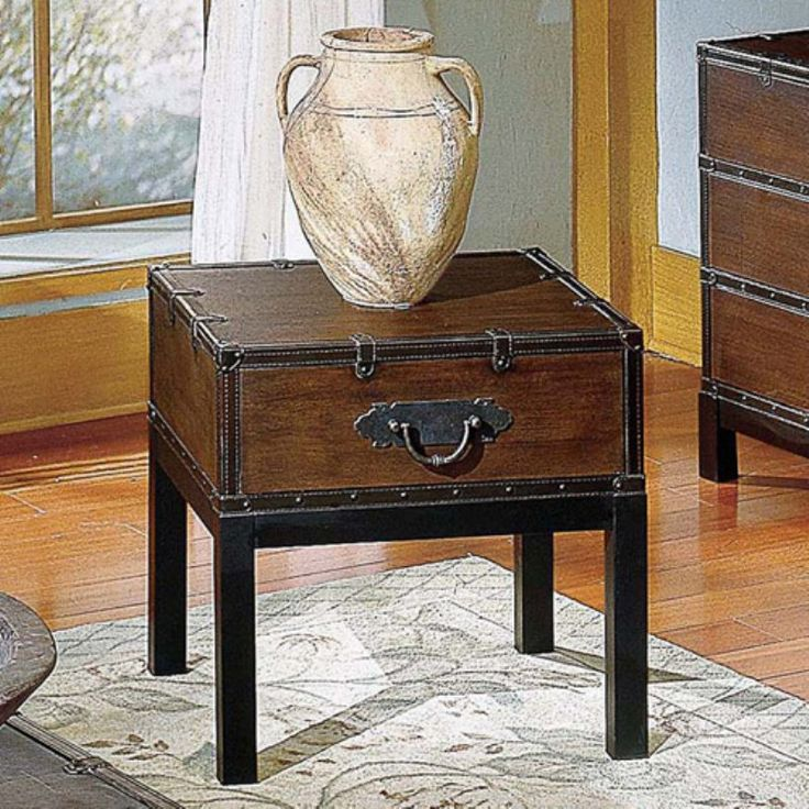 The 25 best Trunk end table ideas on Pinterest Trunks Wooden