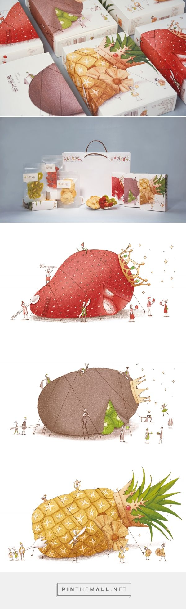 Imagination For Life|Dried Fruit Packaging on Behance - created via https://pinthemall.net