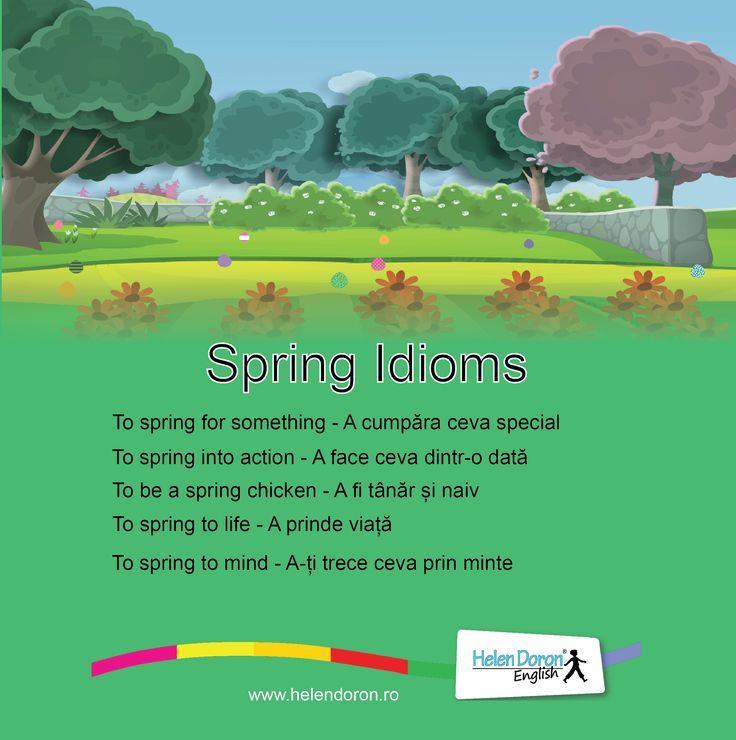 Spring Idioms